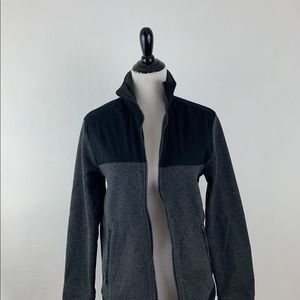 Goodfellow Black and Gray Zip Up Jacket